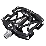 MZYRH Mountain Bike Pedals, Ultra Strong Colorful CNC Machined 9/16'...