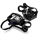 INPUSLIN SPD Pedals 9/16'' Spin Bike Pedals Hybrid Pedal with Toe...