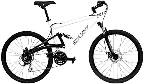 2021 Gravity FSX 1.0 Dual Full Suspension Mountain Bike with Disc...