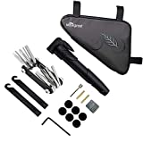 WOTOW Bike Tyre Repair Kit, Waterproof Frame Triangle Bag & Mini Bike...