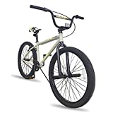 Hiland 24 inch BMX Bike Beginner-Level to Advanced Riders with 2 Pegs...