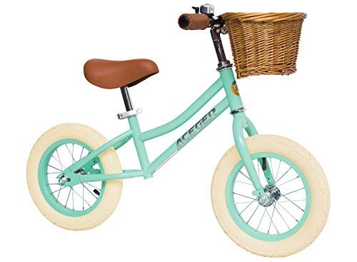 ACEGER Balance Bike for Kids with Basket, Ages 2 to 5 Years (Serend)