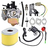 Butom 16100-ZH8-W61 Carburetor with Tune Up Kit for Harbor Freight...