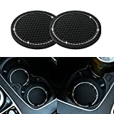 JUSTTOP Car Cup Holder Coaster, 2 Pack Universal Auto Anti Slip Cup...