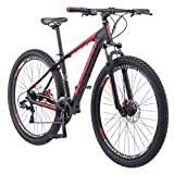 Schwinn Bonafide Mens Mountain Bike, Front Suspension, 24-Speed,...