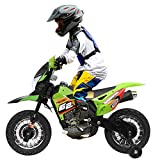 JAXPETY 6V Electric Motorcycle, Battery Powered Dirt Bikes for Kids...