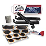 RocRide 16-PC Inner Tube Patch Bicycle Repair Kit. Also for Inflatable...