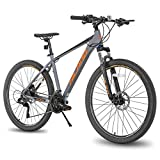 Hiland 27.5 Inch Mountain Bike 27-Speed MTB Bicycle for Man with 18...