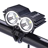 SecurityIng Waterproof 1200 Lumens LED Bicycle Light 4 Modes Super...
