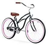 Firmstrong Urban Lady Single Speed Beach Cruiser Bicycle, 26-Inch,...