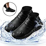 Homestine Waterproof Shoe Cover, Reusable Silicone Non-Slip Rain&Snow...