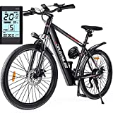 DR.GYMlee 26' Electric Mountain Bike with Fast Charging,350W Brushless...
