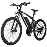 ANCHEER 350/500W Electric Bike 27.5'' Adults Electric Commuter...