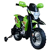 Aosom Cruising Kids Dirt Bike Electric Motorcycle with Charging 6V...