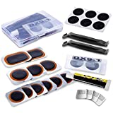 Maifede Bike Inner Tire Patch Repair Kit - with 11 PCS Vulcanizing...
