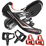 Venzo Road Bike Compatible with Shimano SPD SL Look Cycling Bicycle...
