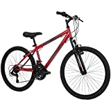 Huffy Hardtail Mountain Bike, Stone Mountain 24-26 inch 21-Speed,...