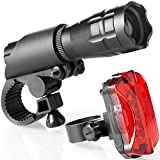 Bike Light Set - Super Bright LED Lights for Your Bicycle - Easy to...