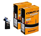 Continental 42MM OR 60MM Presta Valve Bicycle Tube Pack of 2 (2 Pack...