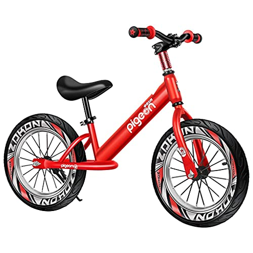 SOPHM5 Bicycle Large Child 16-inch air tire Balance Bike for Big...