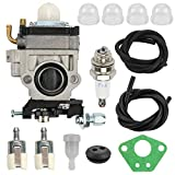 Fuel Li Carburetor Carb Tune-Up Kit for 43cc 47cc 49cc 50cc 2 Stroke...
