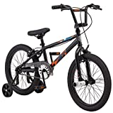 Mongoose Switch BMX Bike for Kids, 18-Inch Wheels, Includes Removable...