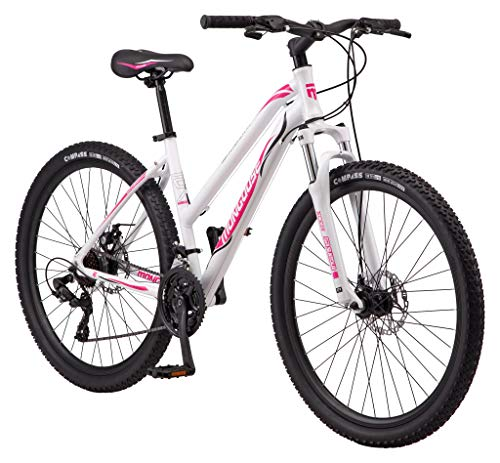 Mongoose Switchback Trail Adult Mountain Bike, 21 Speeds, 27.5-Inch...