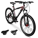 Sirdar S-700 Mountain Bike for Adult and Youth, 27 Speed 26 inch...