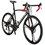 Road Bicycle 700C Frame 54cm for Men and Women 21 Speed Adult Racing...