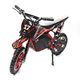 XtremepowerUS 36V Dirt Bike Kids Ride-On Electric Motorcycle Toy Speed...