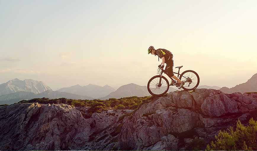 mountain bike parts and their meaning