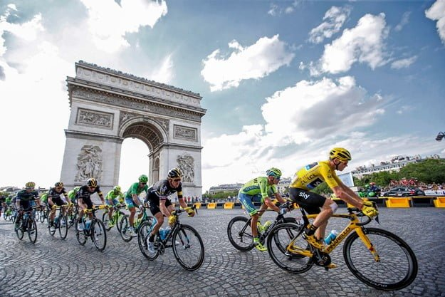 Beginner's Guide to the Tour de France: Basics of Strategy for Cycling's Greatest Race through Europe